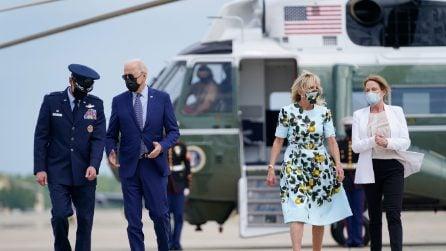 L'abito con i limoni di Jill Biden