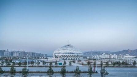 Il teatro cinese che sembra una grande moschea