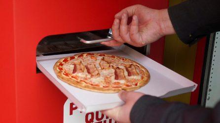 A Roma arriva il distributore automatico di pizza