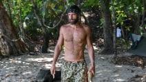 L'Isola 2021 di Gilles Rocca: le foto del dimagrimento e delle lacrime per la lontananza da casa