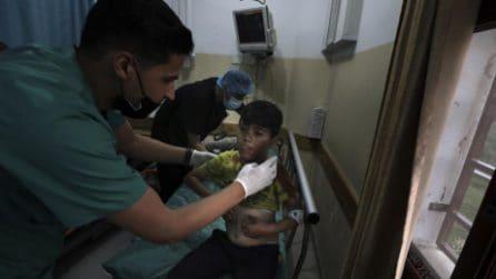 Israele bombarda Gaza nella notte: tra i morti anche 9 bambini