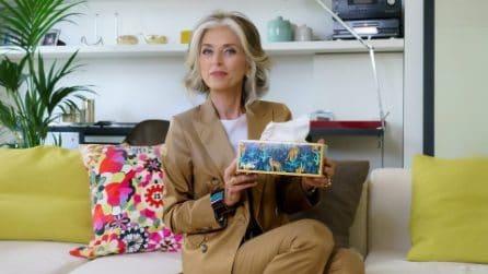 Paola Marella trasforma le comuni scatole di fazzoletti in arredi di design