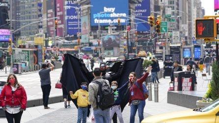 Covid, New York torna a popolarsi di turisti