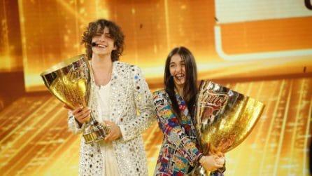 Giulia Stabile vincitrice di Amici 20: le foto della finale con il fidanzato Sangiovanni