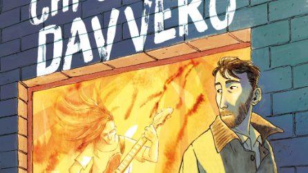 Le tavole di Chi conosci davvero, graphic novel di Perturbazione e Davide Aurilia
