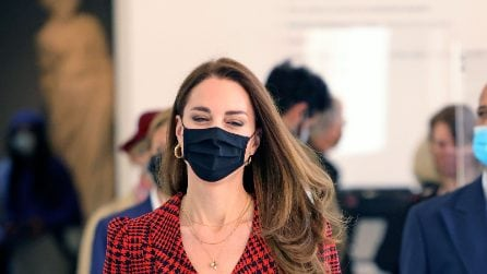 Il look in stile british di Kate Middleton