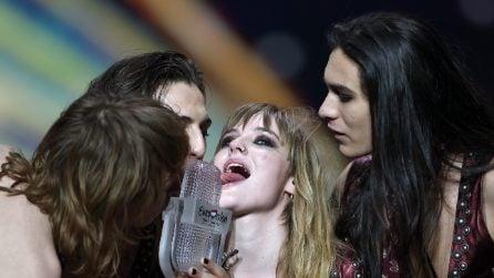 Le foto dei Maneskin vincitori di Eurovision 2021