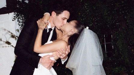 Le foto del matrimonio di Ariana Grande e Dalton Gomez