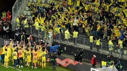 Il Villarreal vince l'Europa League: primo trofeo europeo con il ritorno dei tifosi