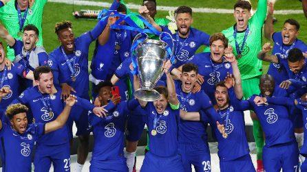 Champions League, le immagini della finale Manchester City-Chelsea