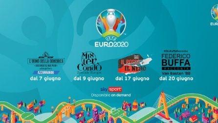 Sky, la presentazione di Euro 2020