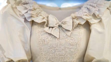 L'abito da sposa da record di Lady D: lo strascico era lungo 7 metri