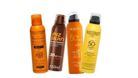 15 creme solari spray per abbronzarti in sicurezza