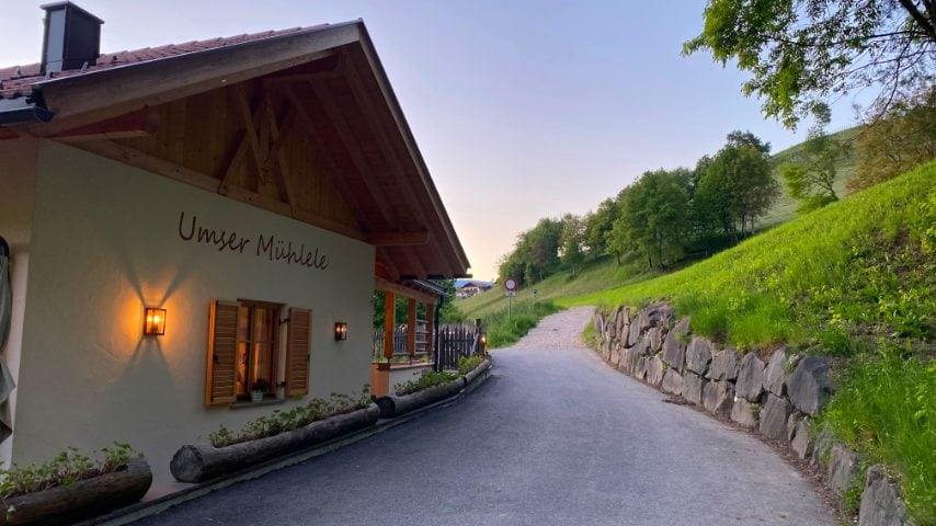ristorante Umser Mühlele (molino di Umes) Foto di Stefano Govi