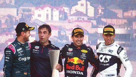 Formula 1, le immagini del GP di Baku