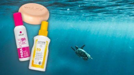 10 cosmetici ecosostenibili che non inquinano il mare