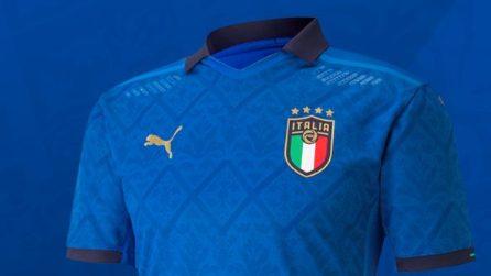 Euro 2020, le maglie delle Nazionali che si sfideranno per la vittoria