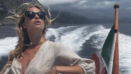 Cristina Marino, i look per il viaggio di nozze con Luca Argentero