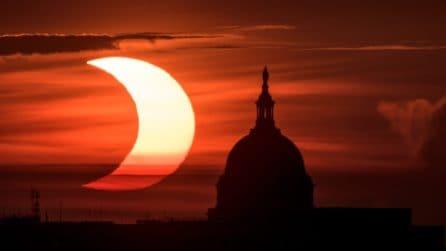 Eclissi anulare di Sole: le spettacolari immagini nel mondo
