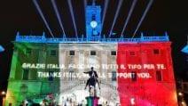 Europei, il sostegno alla Nazionale Italiana: che spettacolo in Piazza del Campidoglio