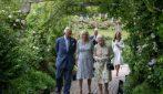 La royal family al completo al G7