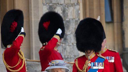 Trooping the Colour 2021: Elisabetta II festeggia 95 anni