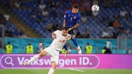 Le immagini di Italia-Svizzera degli Europei 2021