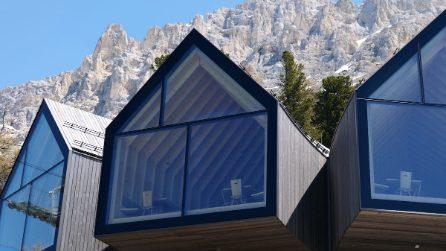 Un rifugio mozzafiato tra le vette dell'Alto Adige