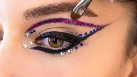 Stick on Beauty, le star che hanno seguito il trend dei make-up adesivi