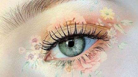 Il make up con i fiori dell'estate 2021