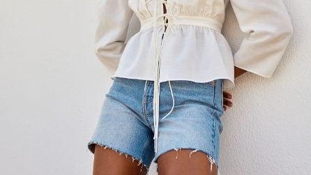 Gli shorts di jeans di tendenza per l'estate 2021