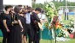 I funerali di Michele Merlo