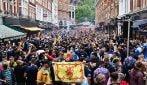 Strade piene di tifosi: a Londra tutto pronto per la sfida di Euro 2020 tra Inghilterra e Scozia