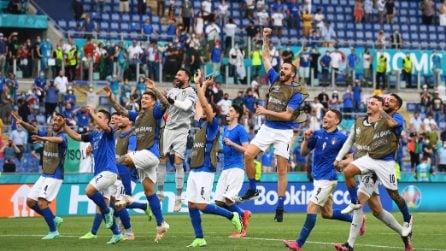 L'urlo azzurro: l'Italia è pronta per Wembley
