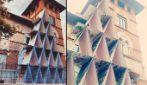 Milano, il castello fatto di carte da gioco: la storia dell'opera