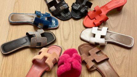 I sandali Hermès di Chiara Ferragni