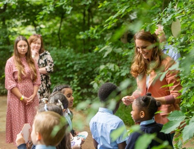 Kate Middleton al Museo di Storia Naturale