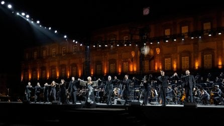 Teatro San Carlo, le immagini della prima della Carmen da Piazza del Plebiscito