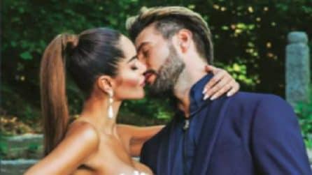 Le foto delle nozze di Alex Belli e Delia Duran