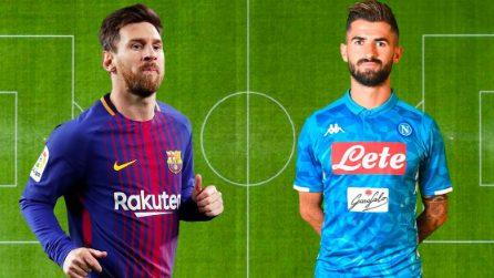 """Messi """"compagno di squadra"""" di Hysaj nella best 11 degli svincolati"""