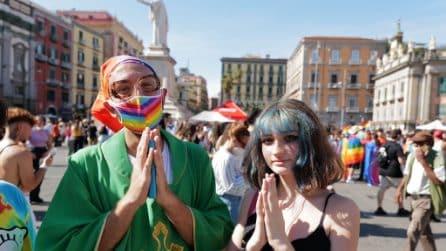 Napoli si colora per il Pride 2021