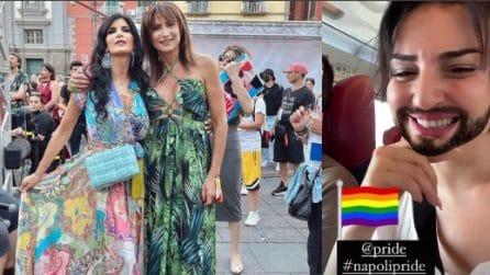 Napoli pride 2021, presenti Arisa e Pamela Prati con Luxuria
