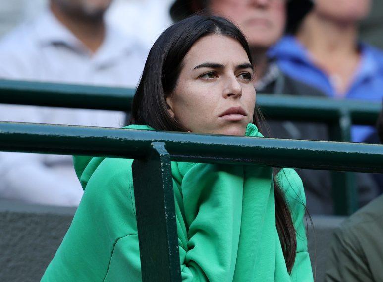 Ajla Tomljanovic, compagna di Berrettini, segue il match sugli spalti. Così fa MAtteo quando a scendere in campo è lei.