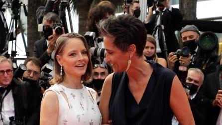 Le foto di Jodie Foster con la moglie Alexandra Hedison a Cannes 2021