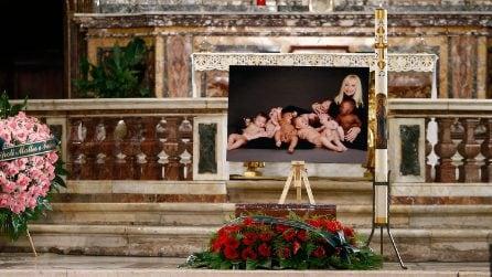 I funerali di Raffaella Carrà a Roma