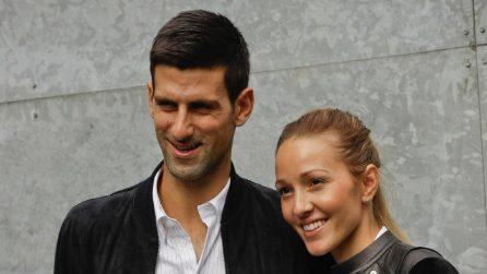 La famiglia di Novak Djokovic: la moglie Jelena e i figli Stefan e Tara