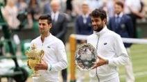 Wimbledon, le immagini della finale Berrettini-Djokovic