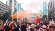 Un fiume di gente verso Wembley: tutto pronto per la finalissima Italia-Inghilterra