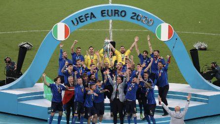 L'Italia vince Euro 2020: gli Azzurri alzano la Coppa