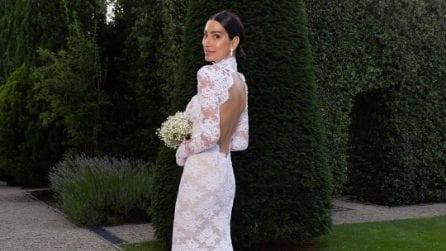 Giorgia Gabriele, l'abito da sposa per le nozze con Andrea Grilli